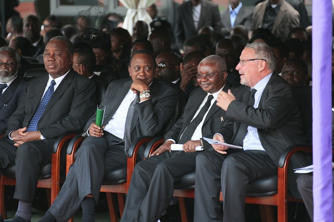 UK listening to zambia's acting President