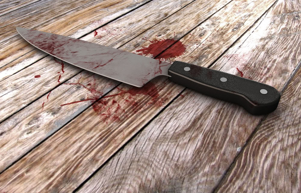knife Bloody - Nyandarua man killed by mob after chopping wife's body into pieces