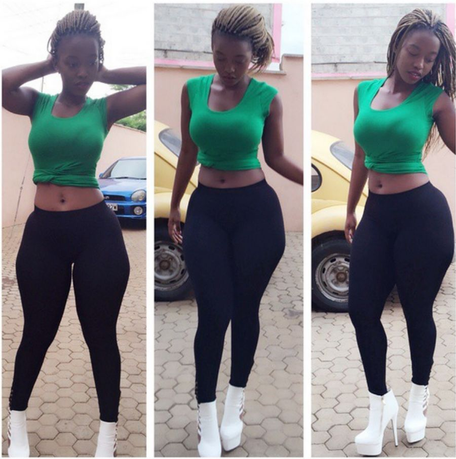 Although She Is Not A Lesbian Kwamboka The Booty Queen Loves Both Men And Women And Even Acknowledges Some Of Her Friends On Social Media Accounts Unlike