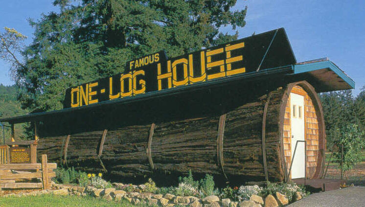 Log House Color - 6 Unusual Houses That You'll Die For [Photos]