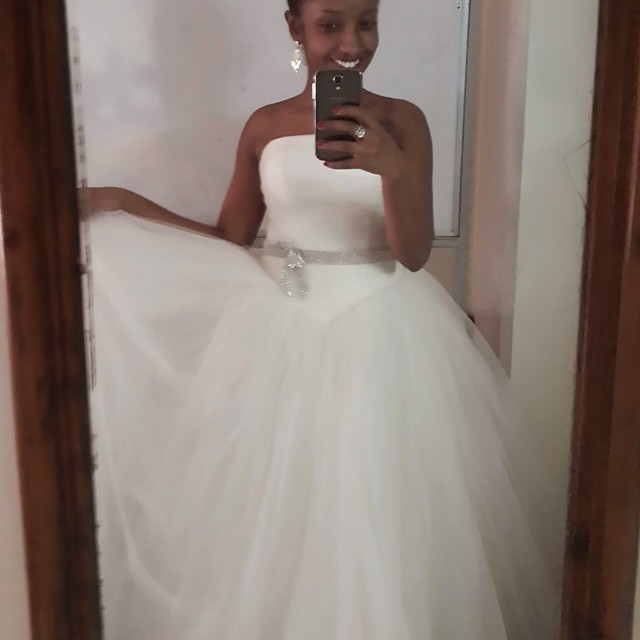 Anita Nderu Wedding Gown