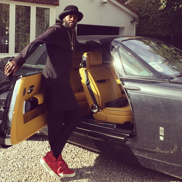 bayor 1 - African footballers who drive cars worth 36m (Photos)
