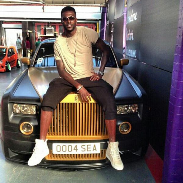 bayor 2 - African footballers who drive cars worth 36m (Photos)