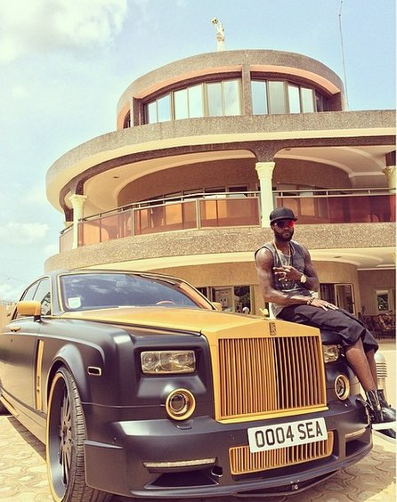 bayor 3 - African footballers who drive cars worth 36m (Photos)