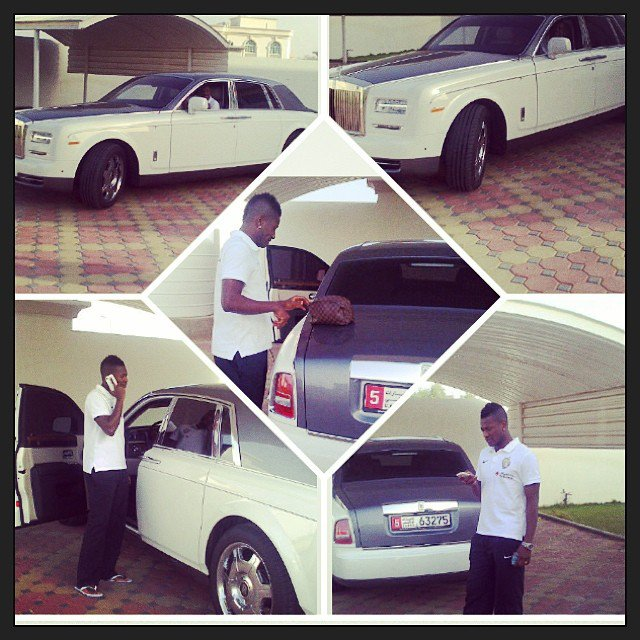 bayor 5 - African footballers who drive cars worth 36m (Photos)