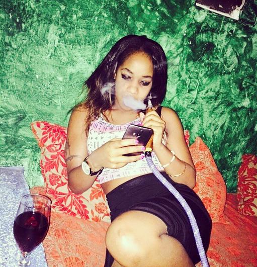 vanessa 1 - Meet The Kenyan Queens Of Shisha-Smoking (PHOTOS)