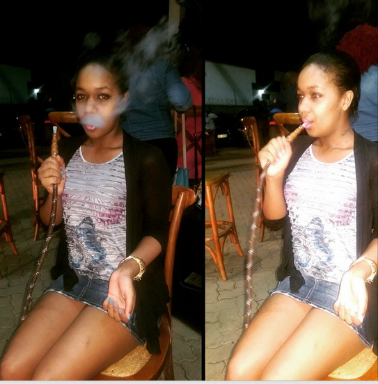 vanessa 5 - Meet The Kenyan Queens Of Shisha-Smoking (PHOTOS)
