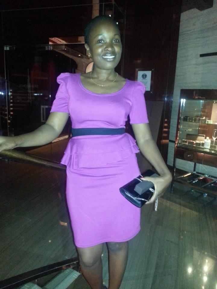 brenda 8 - Meet The Only Kenyan Journalist Who Is Married To A Famous Footballer (PHOTOS)