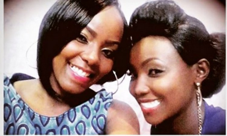 celina and olive - 5 Kenyan Female Celebrities Who Look Horrible In Wigs And Weaves (PHOTOS)