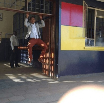 Babu on police station 422x420 - Kenya's Young Rich Men Who Have Kept City Women Drooling (PHOTOS)