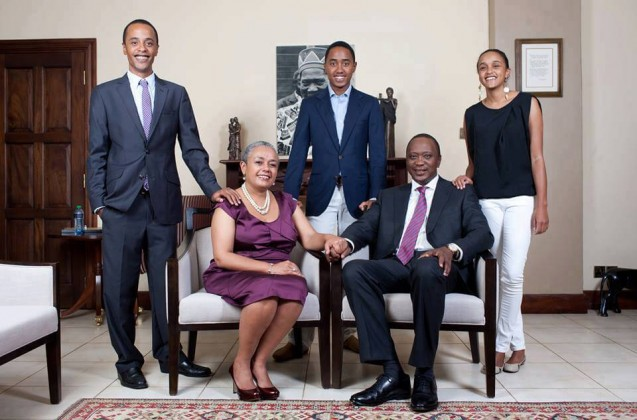 margaret Kenyatta 1 637x420 - Beauty and brains! Meet the beautiful and supportive women behind Kenyan politicians