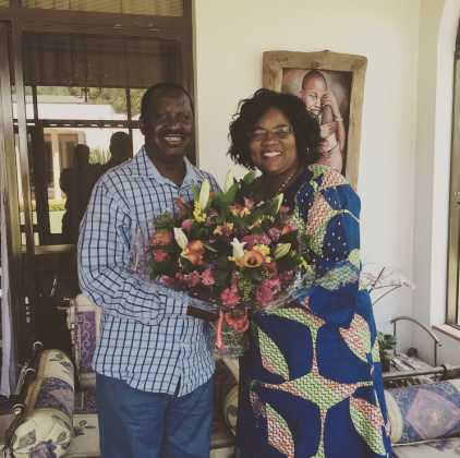 Ida Odinga4 422x420 - Beauty and brains! Meet the beautiful and supportive women behind Kenyan politicians
