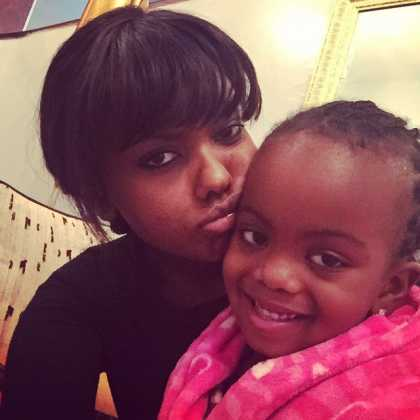anne kiguta weave 420x420 - From Lilian Muli To Lulu Hassan: Favorite TV Anchors With Their Children