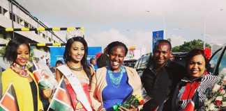 Charity Mwangi Miss World