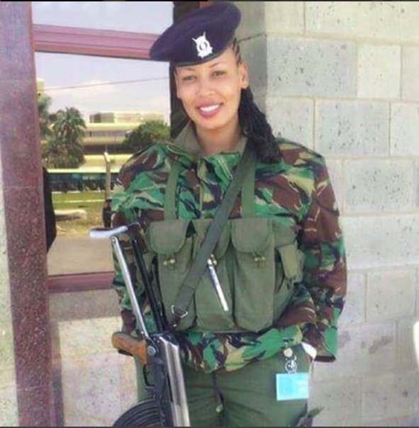 Meet The New Sexy Female Police Giving Kenyan Men Sleepless Nights