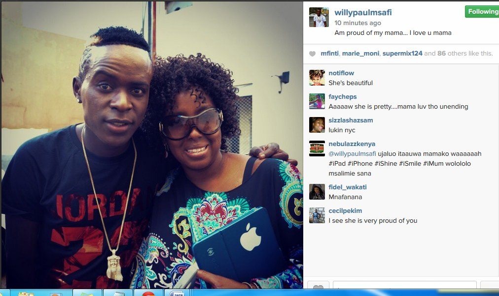 willy paul mom