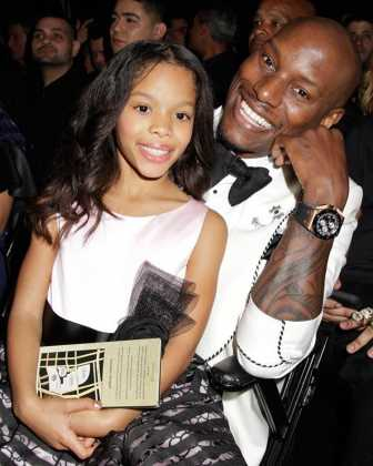 Tyrese Gibson and his daughter Shayla Gibson