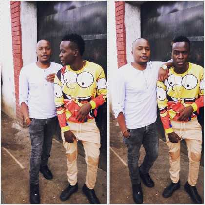 Willy Paul and Jaguar