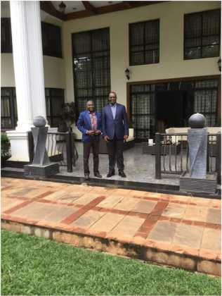 Evans Kidero3 316x420 - From William Ruto To Aden Duale, Politicians Who Own Expensive Homes