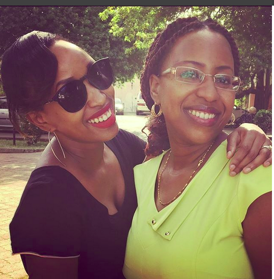 Janet Mbugua And Sister - My Sister Is Hotter Than Yours! Janet Mbugua Shows Off Her Hot Sister (PHOTOS)