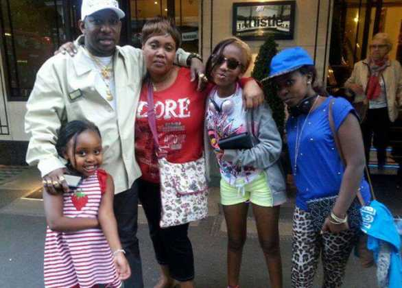 mike and family 586x420 - Born with a silver spoon! Meet the children of Kenyan Governors (Photos)