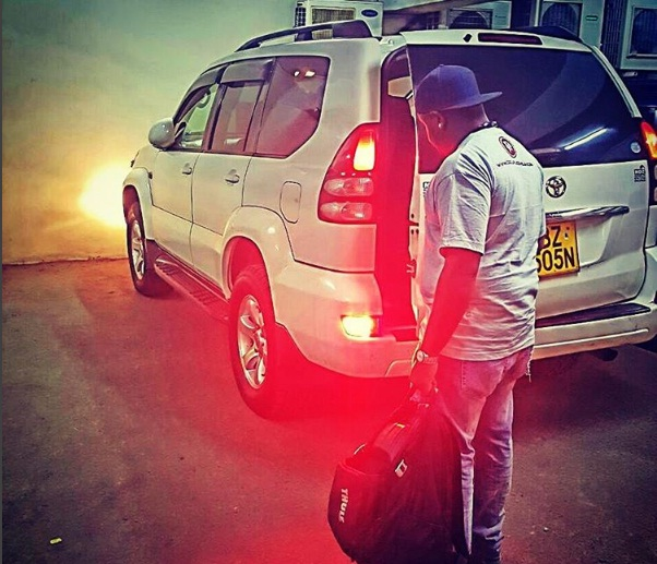 DJ Joe Mfalme's car1